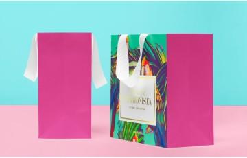 Quy trình sản xuất in túi giấy shop thời trang cao cấp